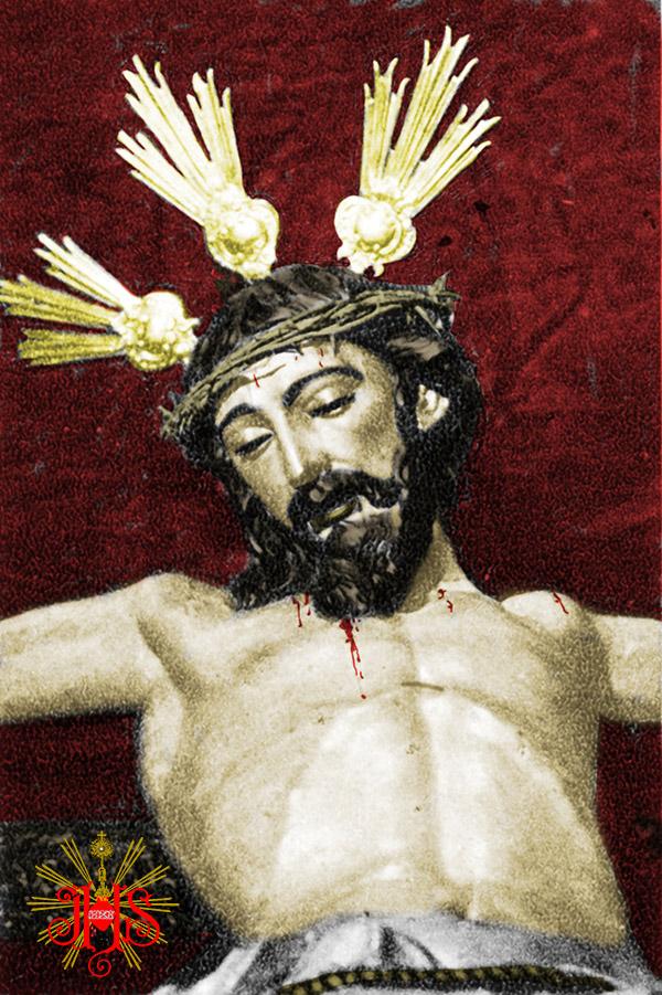 4-Cristo-con-potencias-y-corona-coloreada