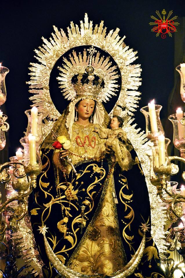Virgen del Rosario Paso