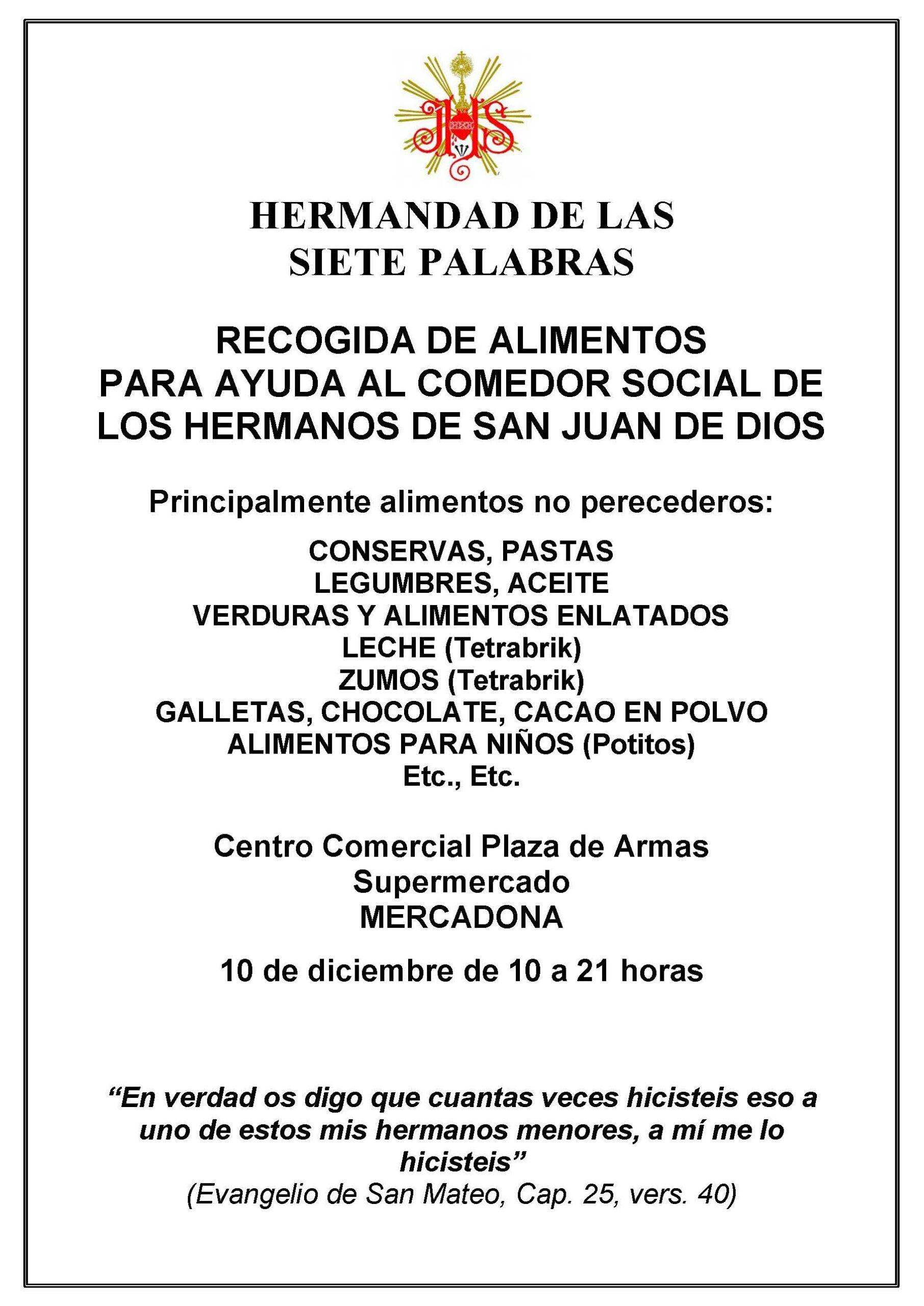 RECOGIDA ALIMENTOS CARTEL-1